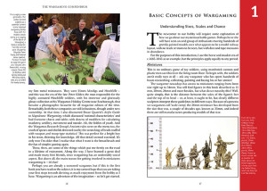 The Wargaming Compendium by Henry Hyde pages 16-17