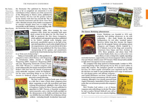 The Wargaming Compendium by Henry Hyde pages 72-73